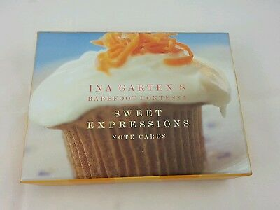 New Ina Garten's Barefoot Contessa Sweet Expressions Small Note Cards