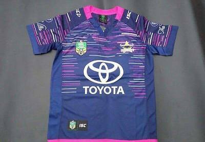 North Queensland CowboysNRL 2017 Rugby Shirt Size S-XXL