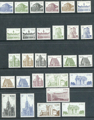 Ireland Architecture complete set mnh