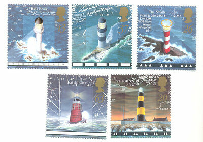 Great Britain-Lighthouses set-mnh