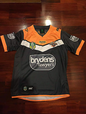 West Tiger NRL Home 2017 Rugby Jersey Size S-XXL