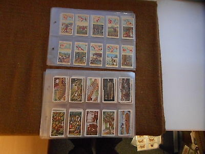 Full Set Cigarette Cards - Players Products Of The World Series Of 50 And 25