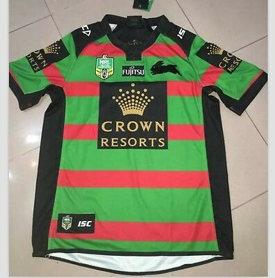 South Sydney Rabbitohs 2016 Home Jersey Size S-XXL