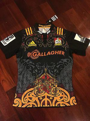 Chiefs Rugby Home 2016 Jersey Size S-XXL