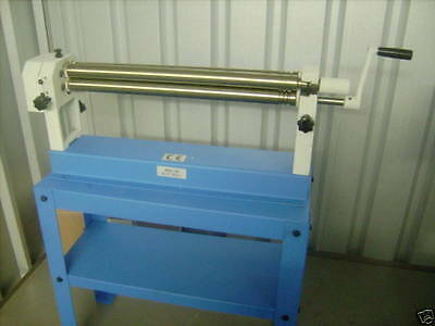 Hand operated  Bending rolls 610mm x 38mm hand rollers