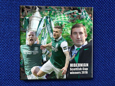 Hibernian Scottish Cup final 2016 winners super ceramic coaster