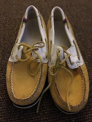 Ladies Timberland Boat Shoes Size 7