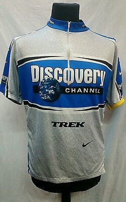 Mens Discovery Channel Drifit Cycling Jersey Size XXL