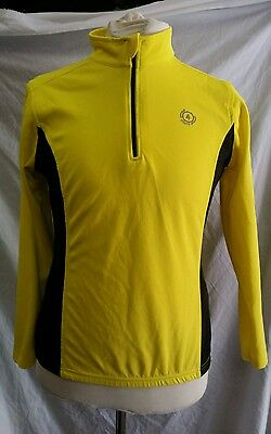 Mens 4 Sports Long Sleeved Cycling Jersey Size Medium