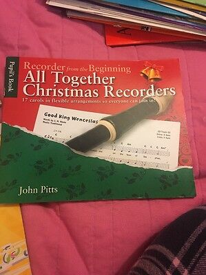 All Together Christmas Recorder Book