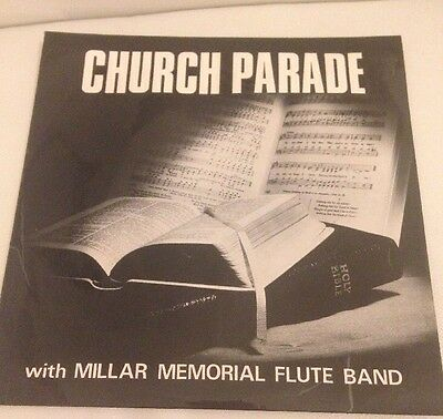 Church Parade With Millar Memorial Flute Band. 1969 12 Inch Record