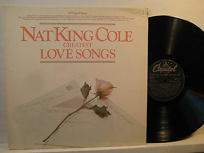 LP- Nat King Cole: Greates Love Songs - 1982 UK ( mint- )
