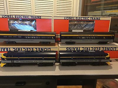 Lionel 19153 - 19164 - 38144, C&O F-3 AA with 6 Cars