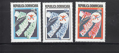 Dominican Republic 2003 PanAm games Sc 1393-95  mint never hinged