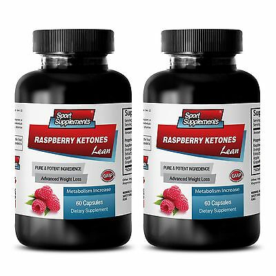 Supreme  Raspberry Ketones Lean 1200mg - Weight Loss Super Strength Pills 500 2B