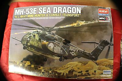 ACADEMY 1:48th SCALE U.S NAVY  MH-53E SEA DRAGON HELICOPTER Model  # 12703 J5