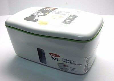OXO Wipes Dispenser - Green Tot Perfect Pull
