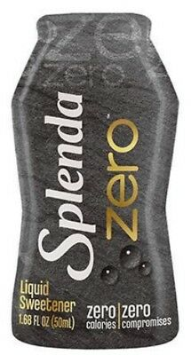 Splenda Zero Liquid Sweetener 50 ml, Low Carb, Sugar Free, Sucralose