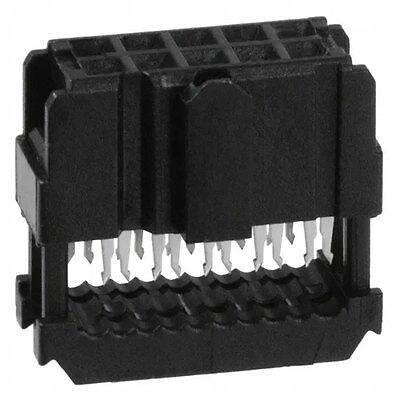 Amp/Tyco Electronics 1658621-1 Connector IDC Connector Female 10 Position 10 pcs