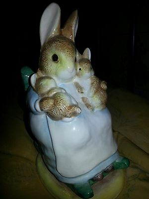 Beatrix Potter's Mrs Rabbit and Bunnies Money Box