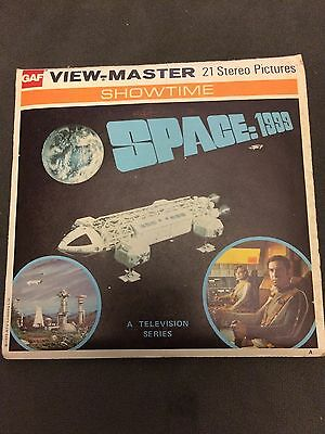 1975 Space : 1999 GAF View-Master BB451 Complete 3 Reels, Book, More