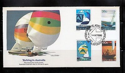 Australia FDC Yachting Sailing Boat Ocean Racer, Metre, Sharpie Sabot - Cover