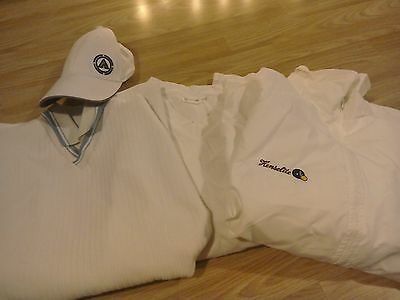 Bowls Clothing Bundle, Airwalk Cap, Henselite Waterproof Jacket and Marconi Top