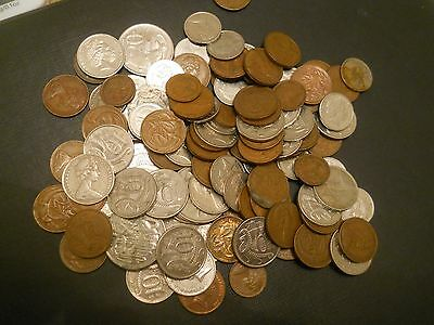 Collection of Australian and New Zealand coins