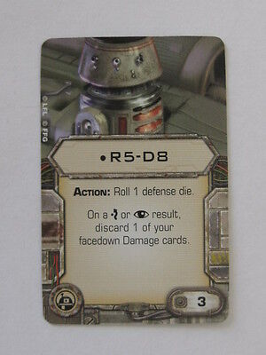 X-Wing Upgrade Card - R5-D8