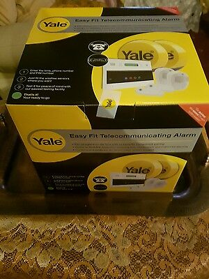Yale Easy Fit Telecommunicating Alarm EF-KIT2. Brand New Boxed and Sealed