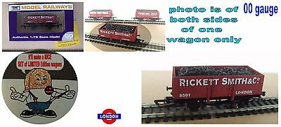 dapol london coal wagon limited edition 00 gauge ideal for hornby bachmann MINT
