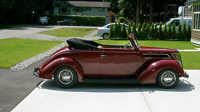 1937 Ford Other  1937 Ford Club Cabriolet Convertible All Steel Body Street Rod
