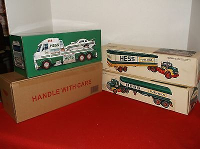 Hess trucks -Bundle of 3   -   2016, 1977 and a 1975