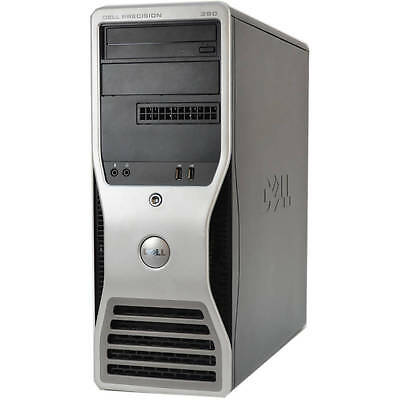 Workstation DELL 390 Core Quad ( 2.4ghz 4gb 1TB ) Quadro FX3500 WIN7