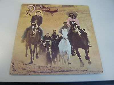 The Doobie Brothers Stampede LP Vinyl Record Album Take Me In Your Arms Rock Me