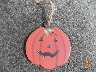 Cute Hanging Pumpkin Ornament