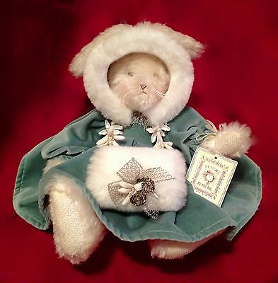 Bunnies by the Bay Collectible Mohair Bunny from Blue Velvet Coll.-Henny-RARE