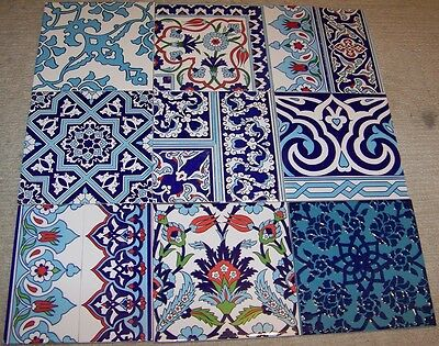 9 Square Foot Turkish Defective Ceramic Tiles for Mosaic Projects
