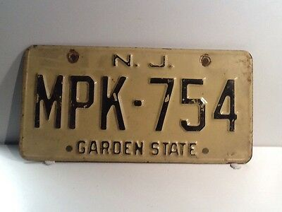 american Licence Plate
