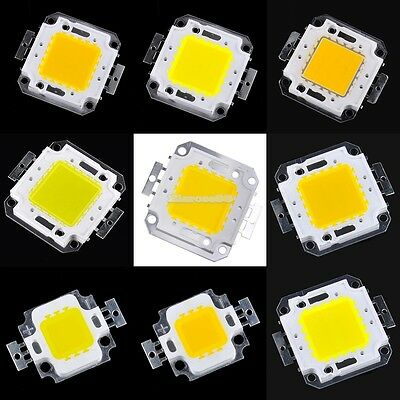 10/20/30/50/100W COB High Power LED Lampe Licht Lampe SMD Chips Bulb