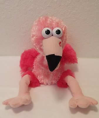 Dan Dee Singing Animated Pink Flamingo Plush That's The Way I Like It