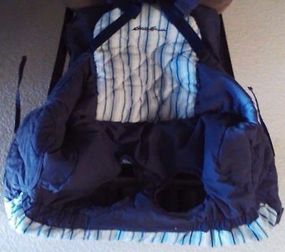Eddie Bauer Clean Seat Shopping Cart Cover / Blue or Brown