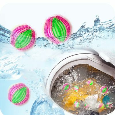 6PC Laundry Catching Wash Cleaning Balls Pet Hair Removing for Washing Machine