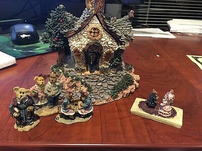Boyd's Bears The Chapel In The Woods - Bearly Built Villages Inc Accessories NEW
