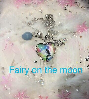 00020 THE FAIRIES Agate Archangel Infused Necklace™ Fairyologist Doreen Virtue