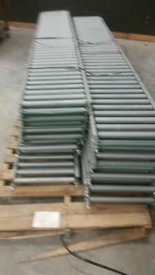 10' gravity conveyor rollers 2 pieces