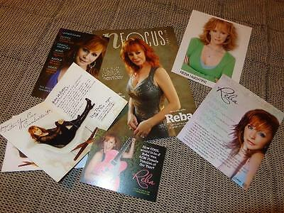 Reba McEntire *2016 Nashville NFOCUS Magazine Cover +Three Voter Postcards+8x10!