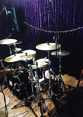 FOR SALE 5 Piece Drum Kit With Stands & Pedals