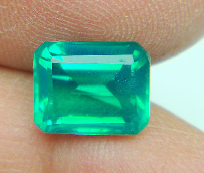 4.05 cts NATURAL COLOMBIAN DOUBLET EMERALD OCT 10.3 x 8.3   MM -1P