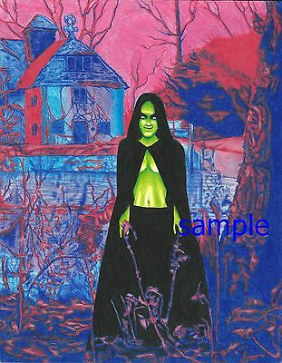 Black Sabbath.susan Atkins Evil Woman,art Print By Dean Monahan